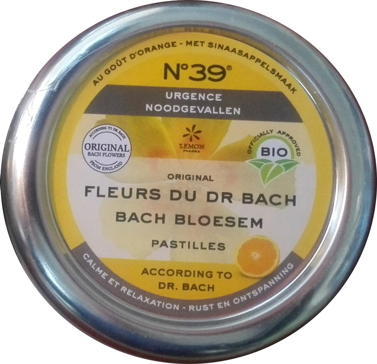 Biologische No.39 Noodgevallen pastilles 50 gr