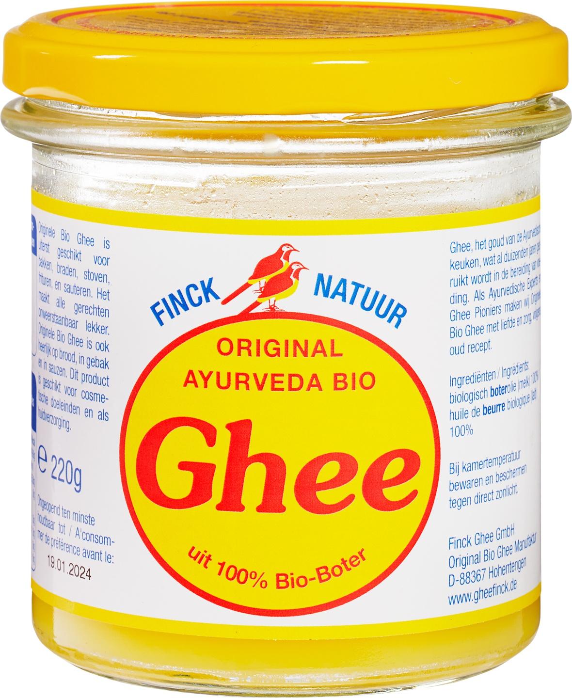 Biologische Finck Naturkost Ghee ayurveda 220 gr