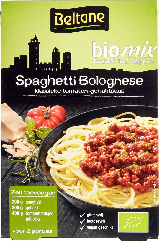Biologische Beltane Spaghetti Bolognese 26 gr