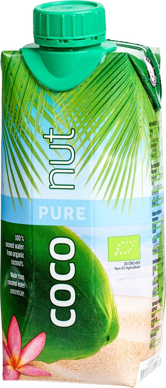 Biologische Aqua Verde Coco pure nut 330 ml