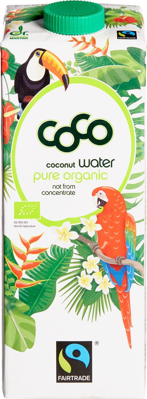 Biologische Dr. Martins Kokoswater 1 L