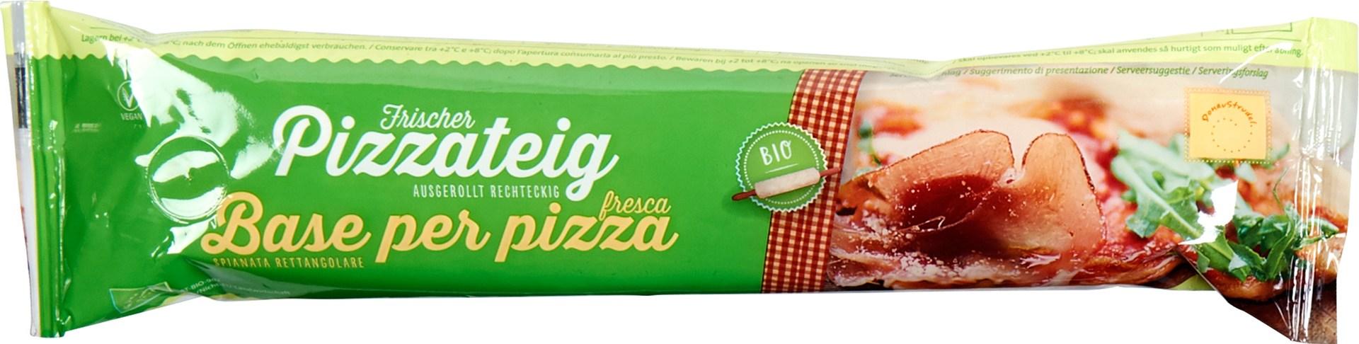 Biologische Donaustrudel Pizzadeeg 400 gr