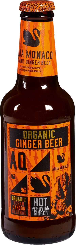 Biologische Aqua Monaco Ginger Beer 230 ml