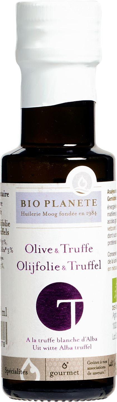 Biologische Bio Planète Olijf- en truffelolie extra vierge Italiaans 100 ml