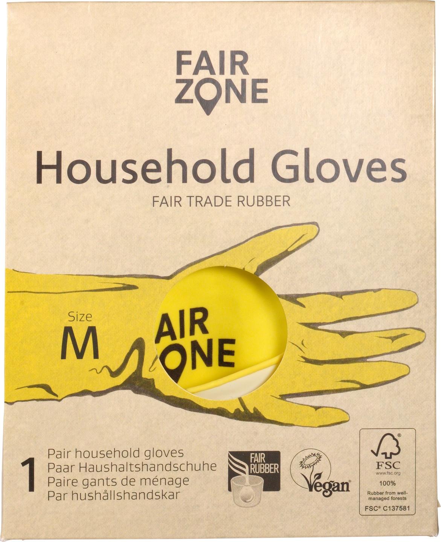 Biologische Fair Zone Huishoudhandschoenen 1 set