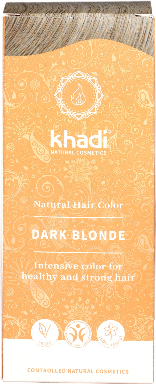 Biologische Khadi Natural haircolor donker blond 100 gr