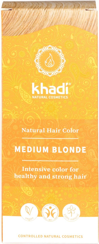 Biologische Khadi Natural haircolor medium blond 100 gr
