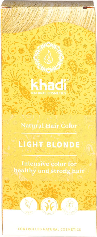 Biologische Khadi Natural haircolor licht blond 100 gr