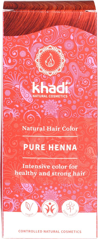 Biologische Khadi Natural haircolor puur henna 100 gr