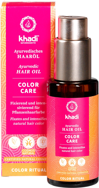 Biologische Khadi Haarolie color care 50 ml