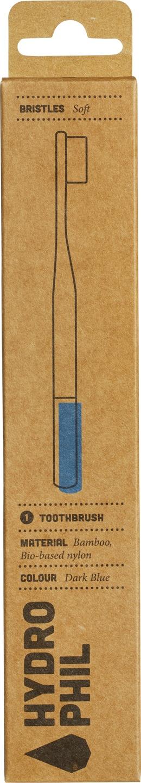 Biologische Hydrophil Bamboe tandenborstel blauw extra soft 1 st