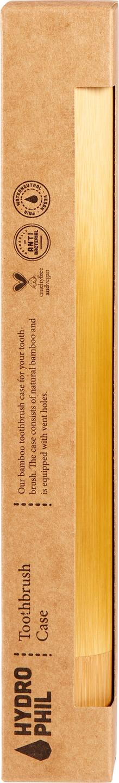 Biologische Hydrophil Bamboe Tandenborstel koker 1 st