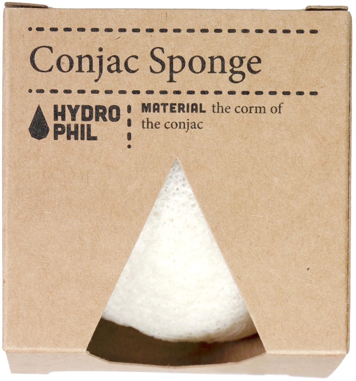 Biologische Hydrophil Konjac spons 1 st