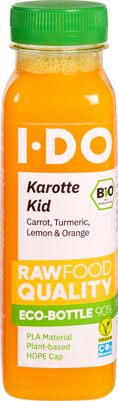 Biologische IDO Groentesap karotte kid 250 ml