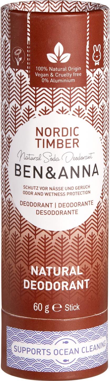 Biologische Ben & Anna Deo Nordic timber 60 g
