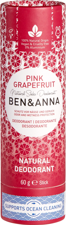 Biologische Ben & Anna Deo pink grapefruit 60 g