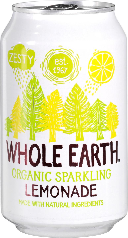 Biologische Whole Earth Sparkling lemonade 330 ml