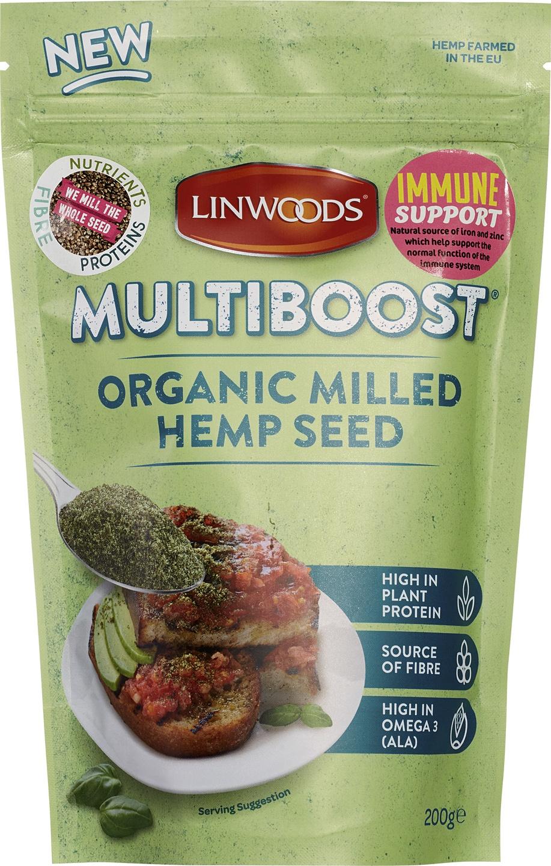 -20% SALE | Biologische Linwoods Hennepzaad gemalen 200 gr