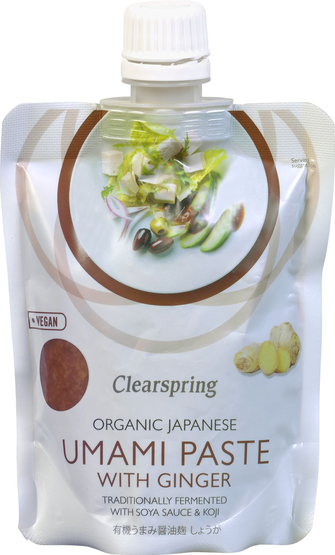 Biologische Clearspring Japanse umamipasta met gember 150 gr