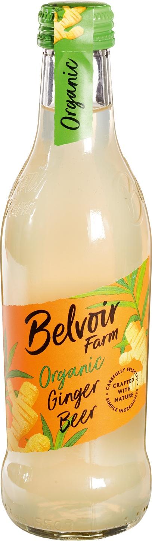 Biologische Belvoir Fruit Farms Ginger beer pressé 250 ml