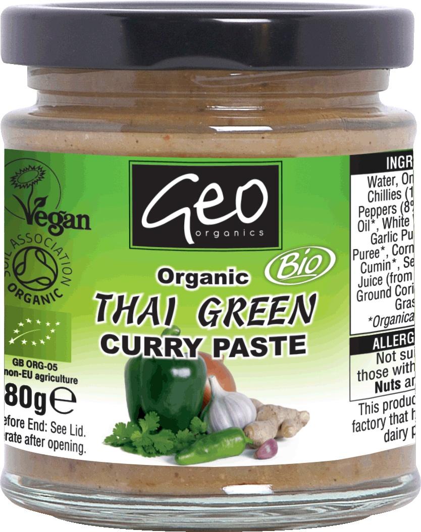 Biologische Geo Organics Thai green 180 g