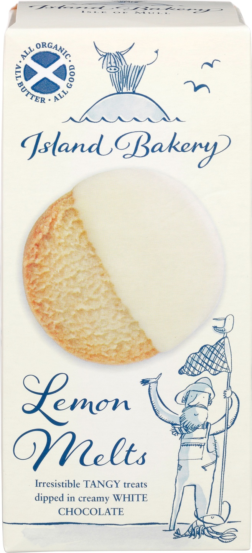 Biologische Island Bakery Lemon melts 133 gr