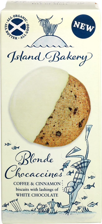 Biologische Island Bakery Blonde Chocacchinos 133 gr