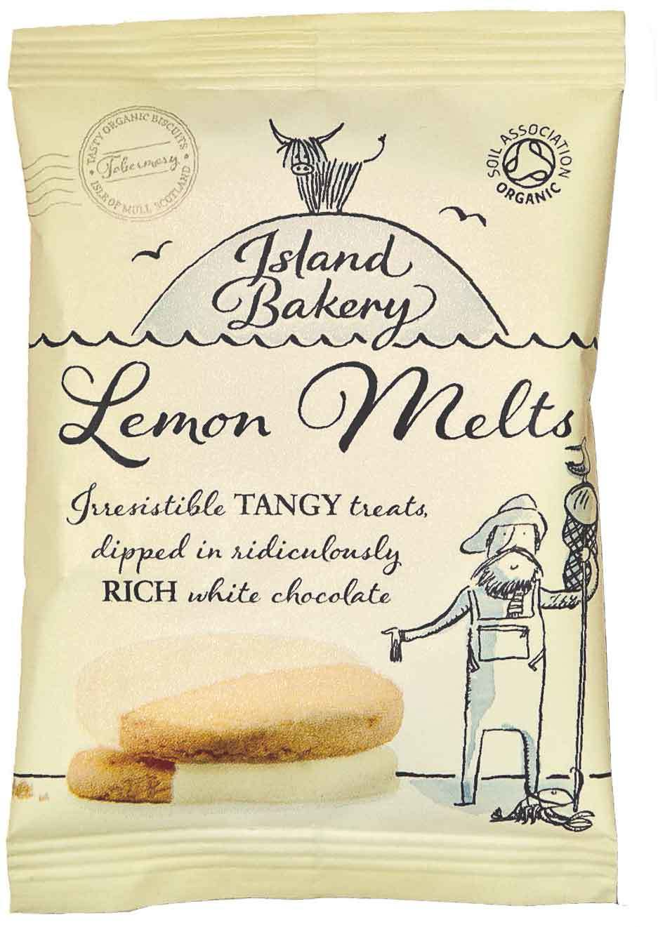 Biologische Island Bakery Lemon Melts 2 pack 35 gr