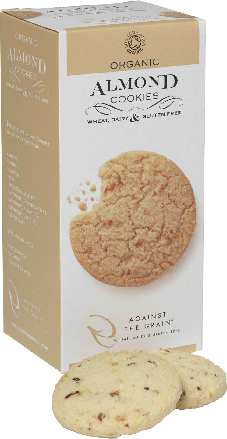 Biologische Against the grain Almond cookies 150 gr