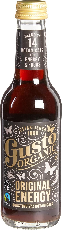 Biologische Gusto Organic Original kola energy drink 250 ml