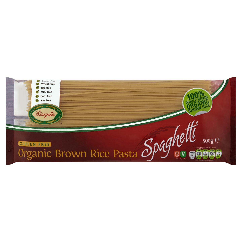 Biologische Rizopia Rijst pasta Spaghetti 500 gr