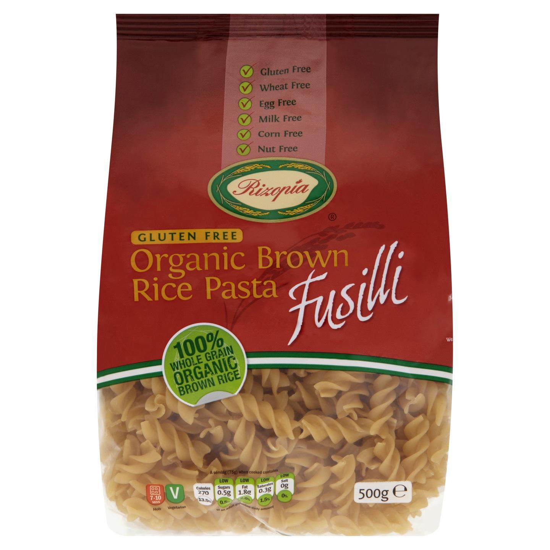 Biologische Rizopia Rijst pasta Fusilli 500 gr