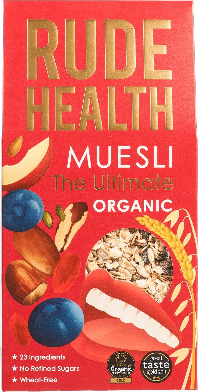 Biologische Rude Health The ultimate muesli 500 gr