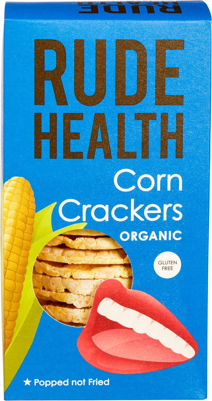 Biologische Rude Health Maïs crackers 130 gr