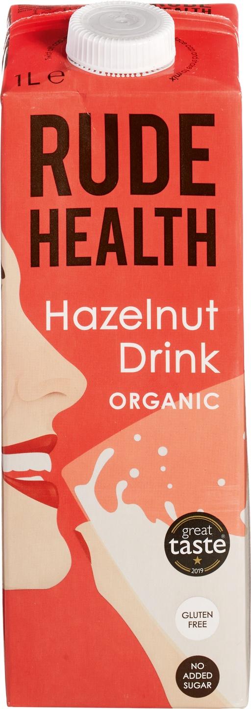 Biologische Rude Health Hazelnut drink 1 L
