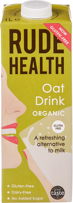 Biologische Rude Health Haver drink 1 L