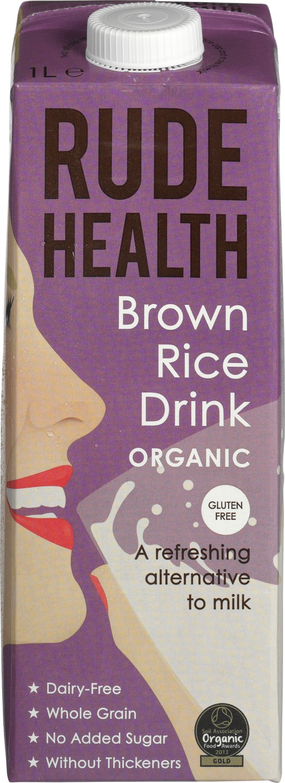 Biologische Rude Health Rijst drank 1 L