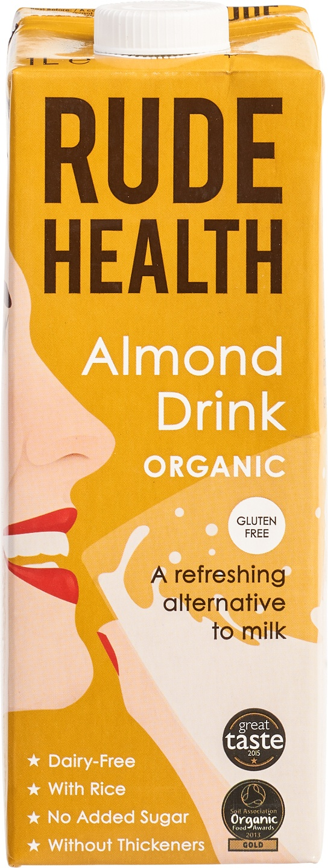Biologische Rude Health Amandel drink 1 L