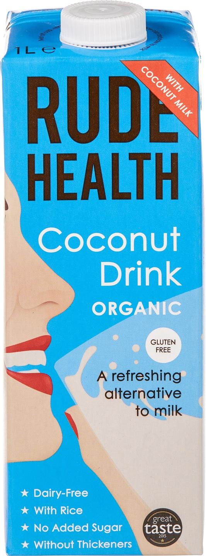 Biologische Rude Health Kokos drink 1 L