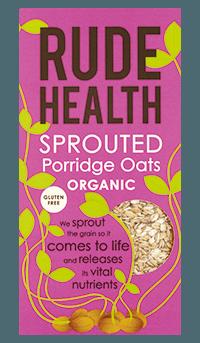 Biologische Rude Health Sprouted porridge oats 500 gr