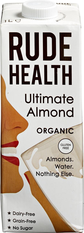 Biologische Rude Health Ultimate amandel drank 1000 ml