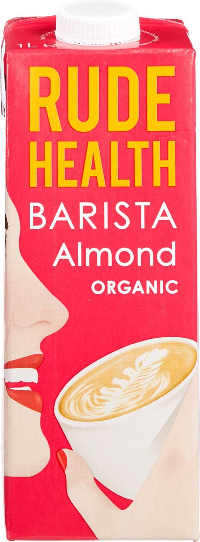 Biologische Rude Health Barista amandeldrink 1 L