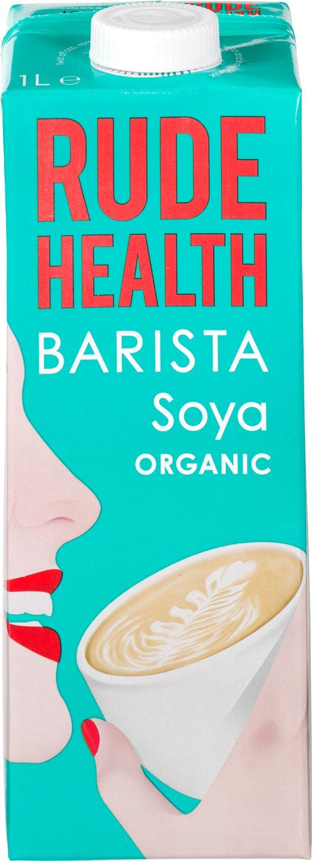 Biologische Rude Health Barista sojadrink 1 L