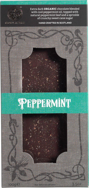 Biologische Chocolate Tree Pure chocolade - pepermunt 100 gr