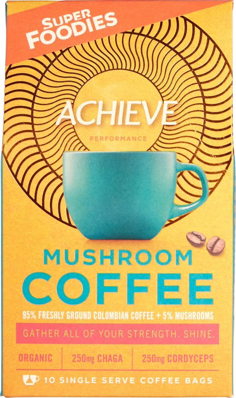 Biologische Superfoodies Mushroom coffee Achieve 100 gr