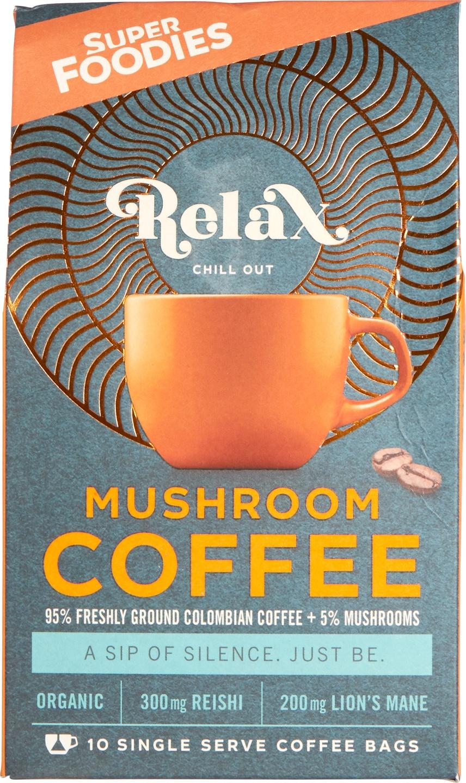 Biologische Superfoodies Mushroom coffee Relax 100 gr