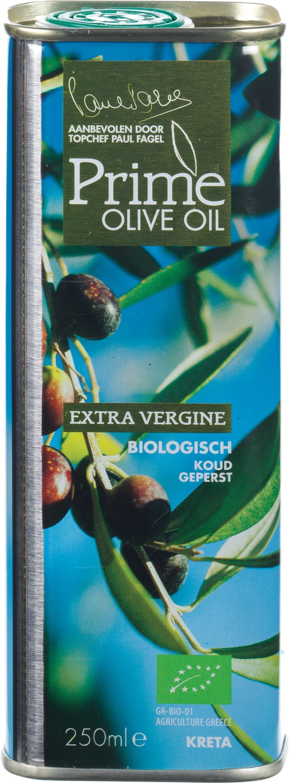 Biologische Prime Olive Oil Olijfolie extra vierge Grieks 250 ml
