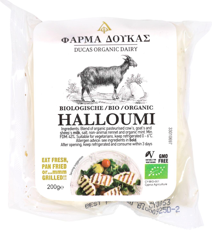 Biologische Ducas Halloumi 200 gr