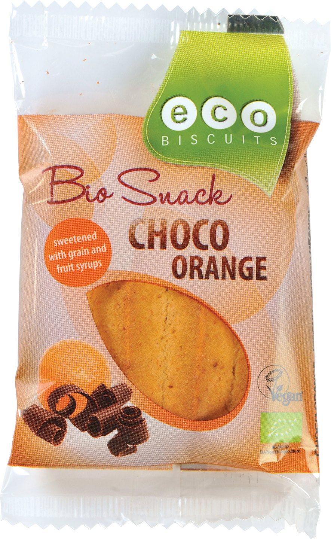 Biologische Eco-Biscuits Bio Snack choco orange 45 gr