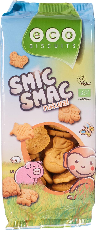Biologische Eco-Biscuits Smic Smac kinderkoekje vanille 150 gr